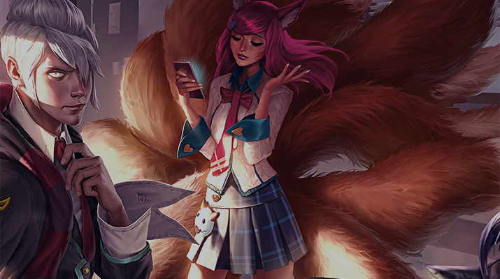 Academy ahri skin splash art