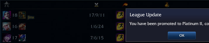 elo boosting by adc