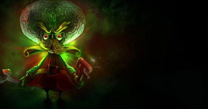 Alien Invader Heimerdinger vault skin