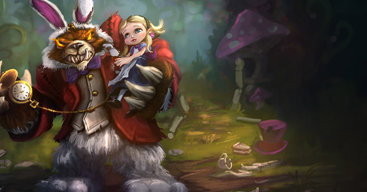 Annie in Wonderland legendary skin
