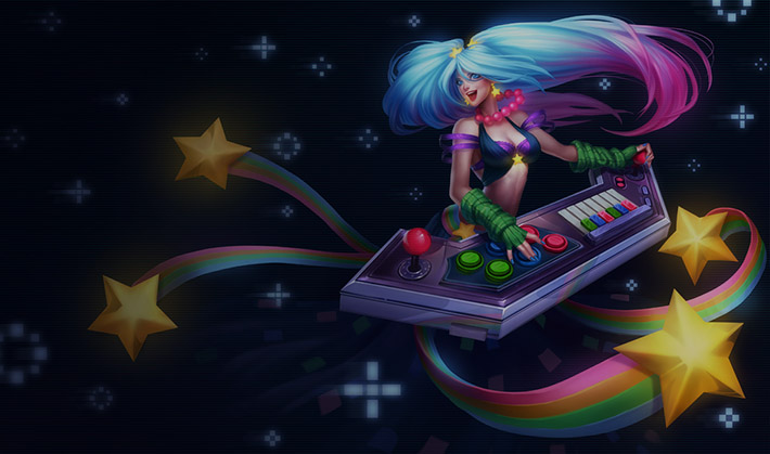 Arcade Sona splash art