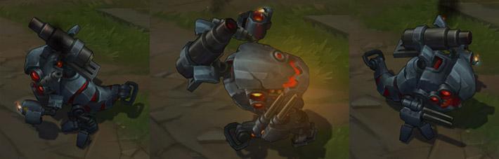 Battlecast Kog'Maw champion skin