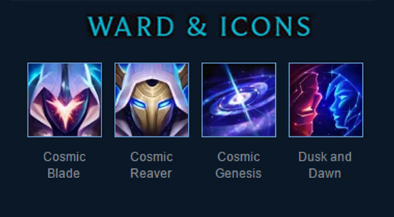 Cosmic summoner icons
