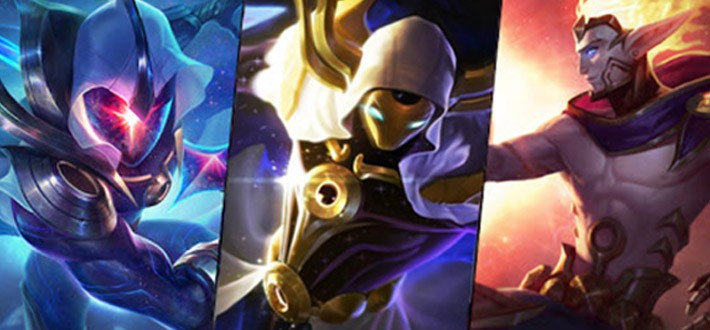 Cosmic skins preview
