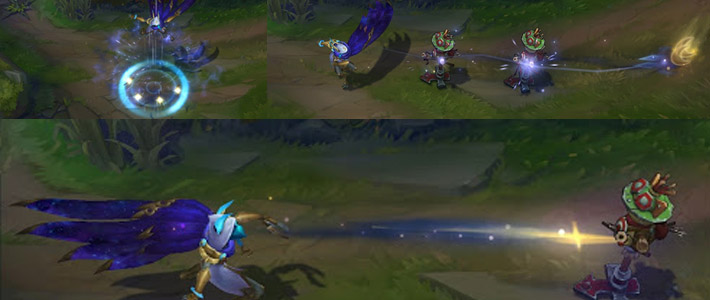 Cosmic Xayah preview