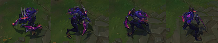 Dark Star Kha'Zix lol model