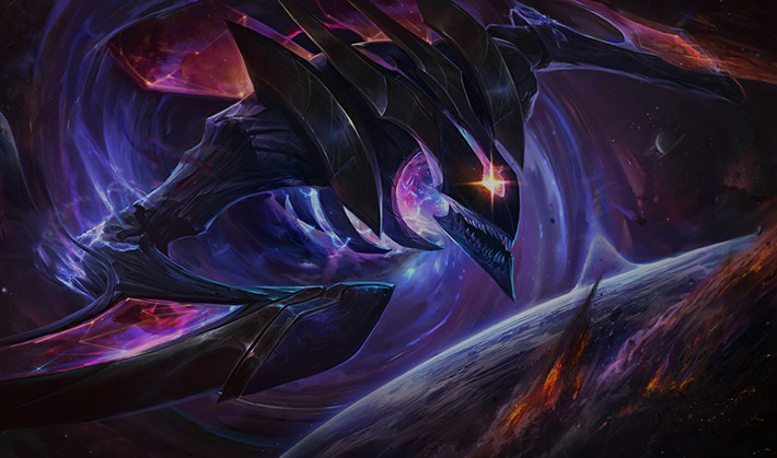 Dark Star Kha'Zix splash art