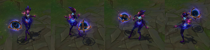 Dark Star Orianna champion skin