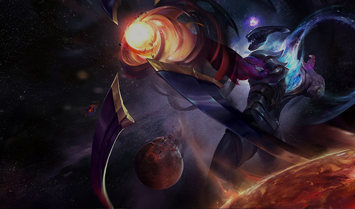 Dark Star Varus Splash art