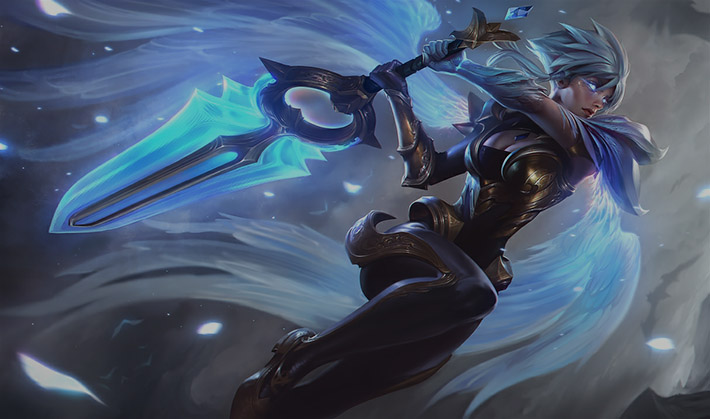 lol dawnbringer riven splash art