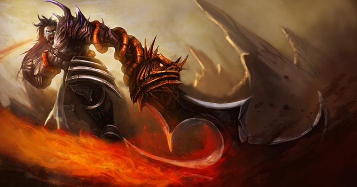 Demonblade Tryndamere Legendary skin