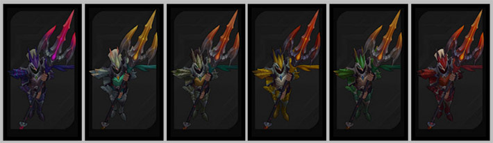 Dragonslayer Xin Zhao chromas