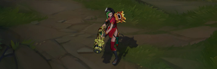 Firecracker Jinx Skin