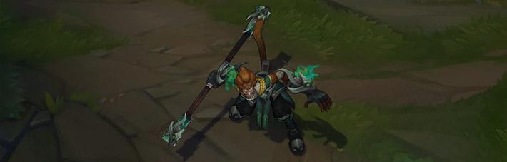 Jade Dragon Wukong Skin - Idle