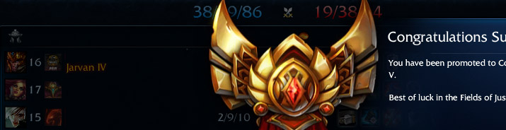 elo boost to gold league