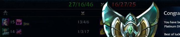 Jinx Elo Push Champion