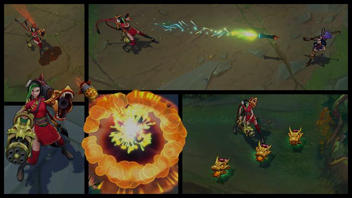 Firecracker Jinx vfx