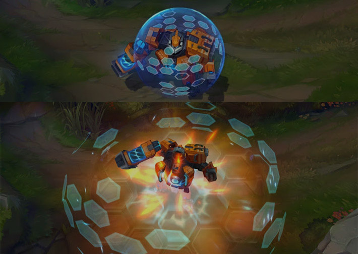 Mecha Zero Sion soul furnace animation