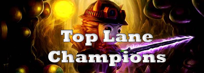 Top Lane LoL | Best Top Lane Champions, Runes in Season 8