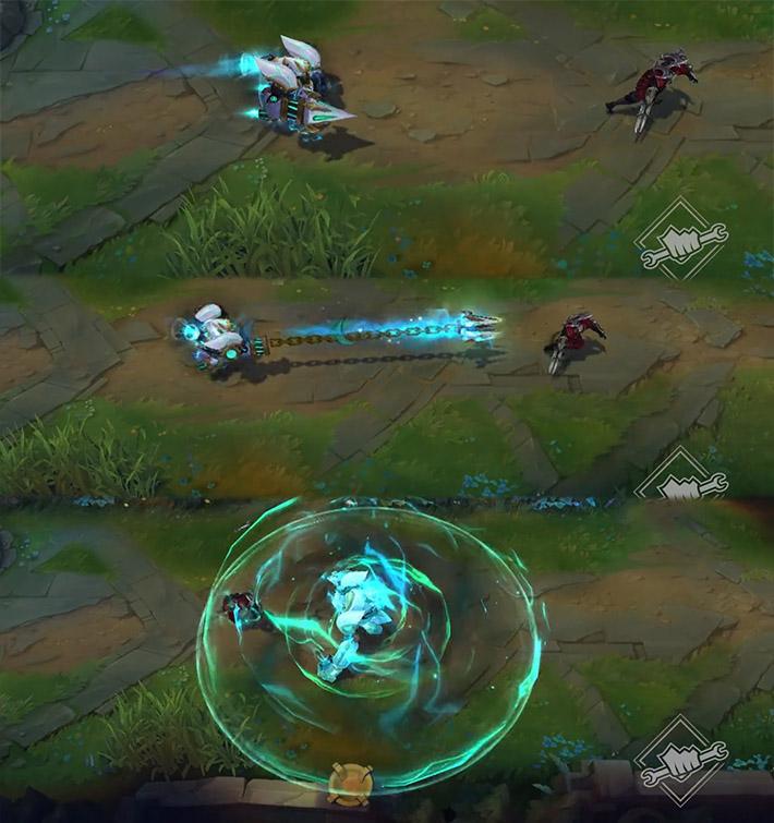 Paragon Lancer Blitzcrank effects