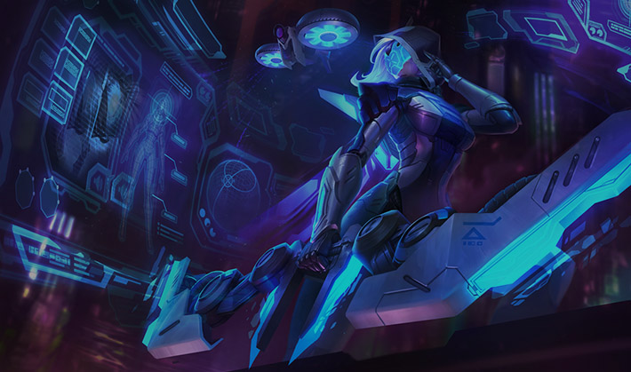 Project Ashe official splash art