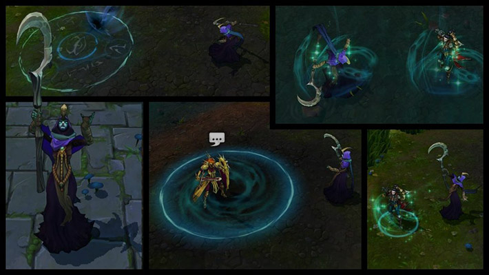 Reaper Soraka New Animations