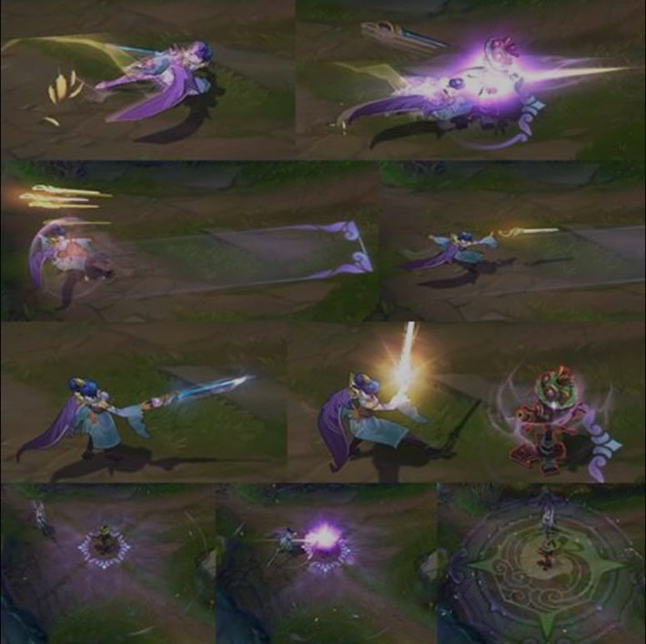 Soaring Sword Fiora new particle effects