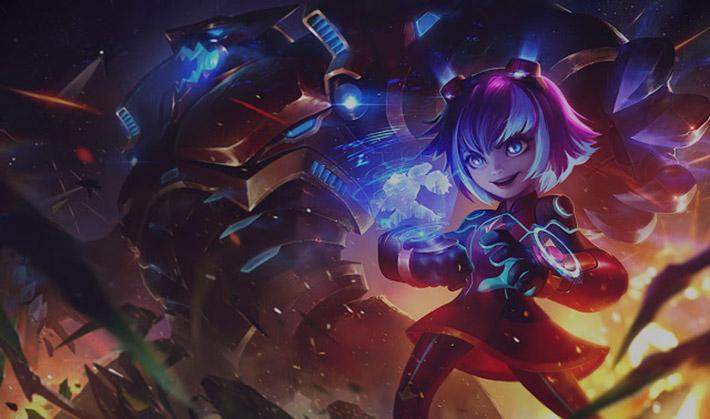 Super Galaxy Annie splash