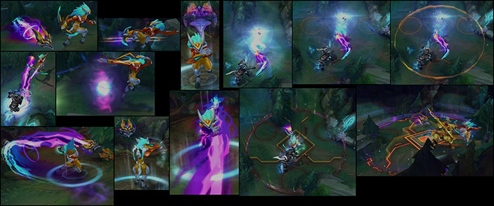 Super Galaxy Kindred abilities