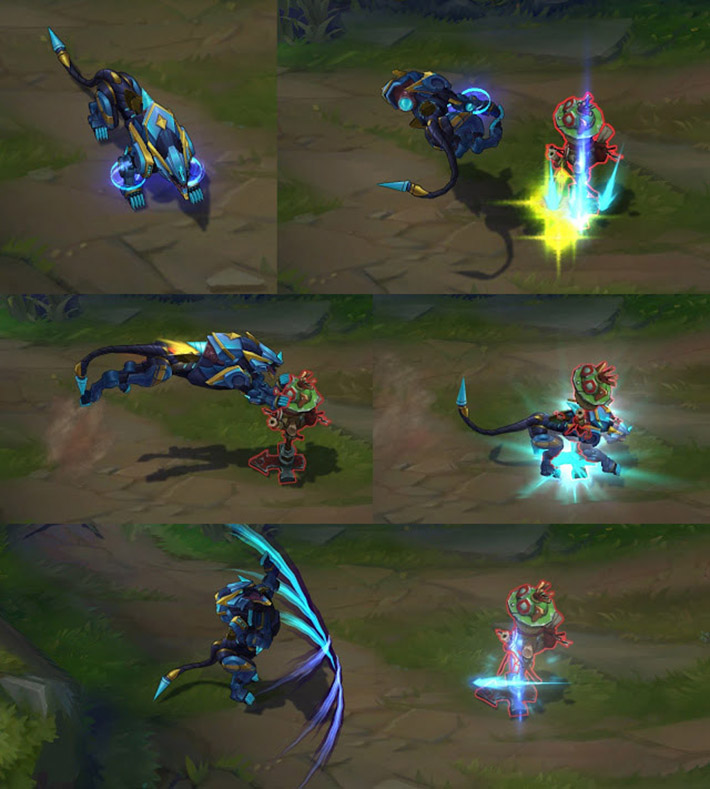 Super Galaxy Nidalee new abilities panther