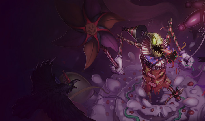 legendary Fiddlesticks skin for League of Legends