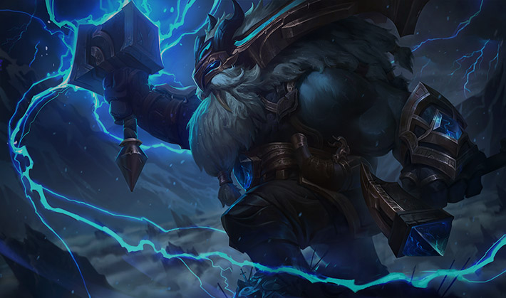 Thunder Lord legendary Ornn skin