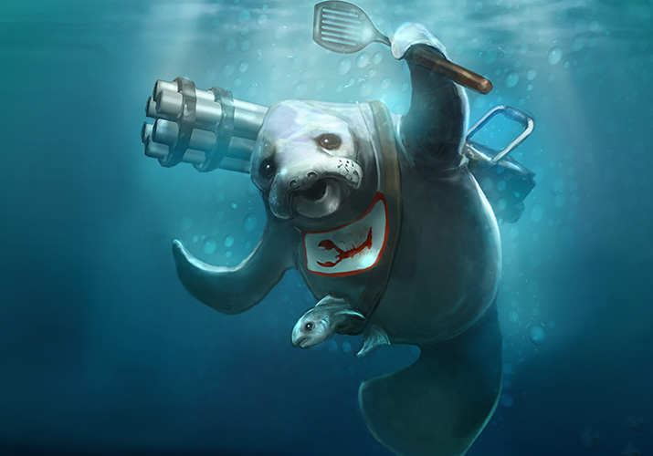 Urf the Manatee. League of Legends April First