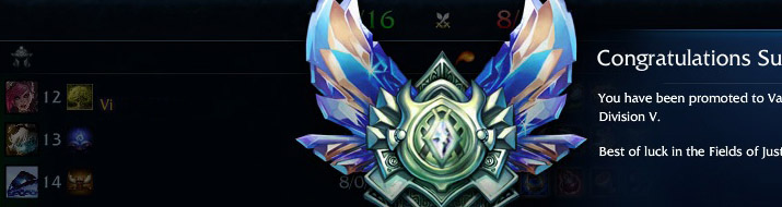 Vi Elo Boost to Diamond