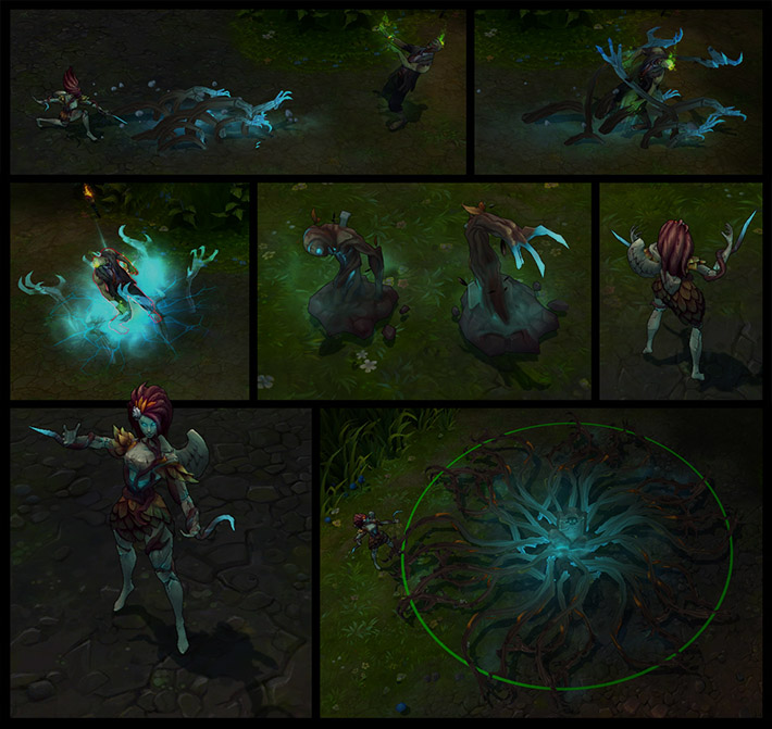 Haunted Zyra New Animations